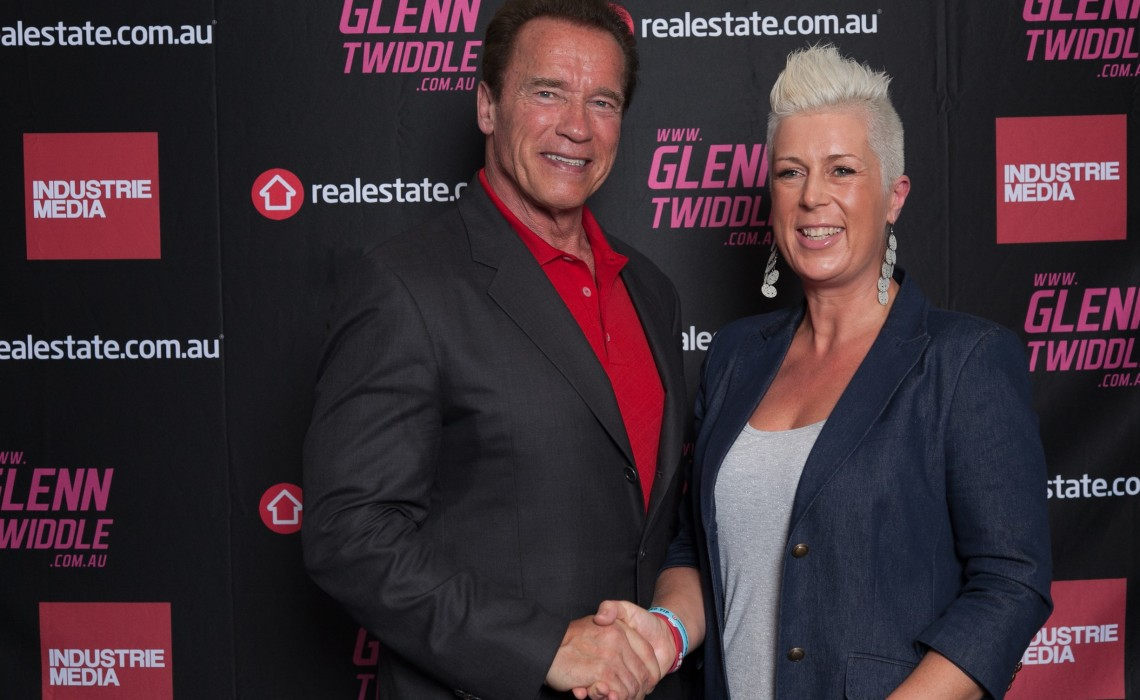 Jodie meets Arnie