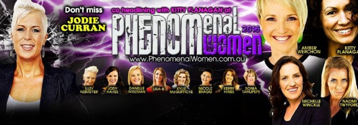 Looking forward to speaking at Phenomenal Women next week!
