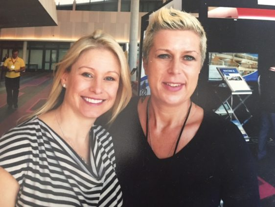 Inspiring Alisa Camplin – what a champion!