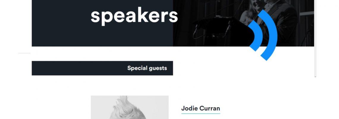 Jodie invited to speak at RMA Open 2019!!